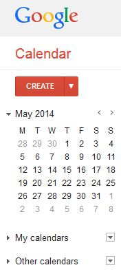Google Calendar - easy to use, easy to integrate