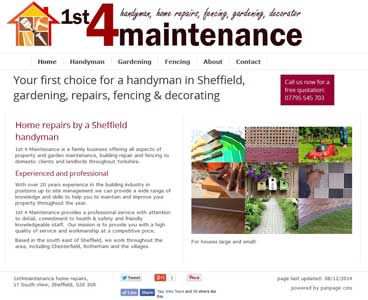 Design for handyman site